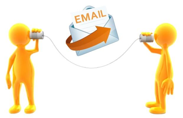 Η επικοινωνια σας με την easywriter.gr μέσω email