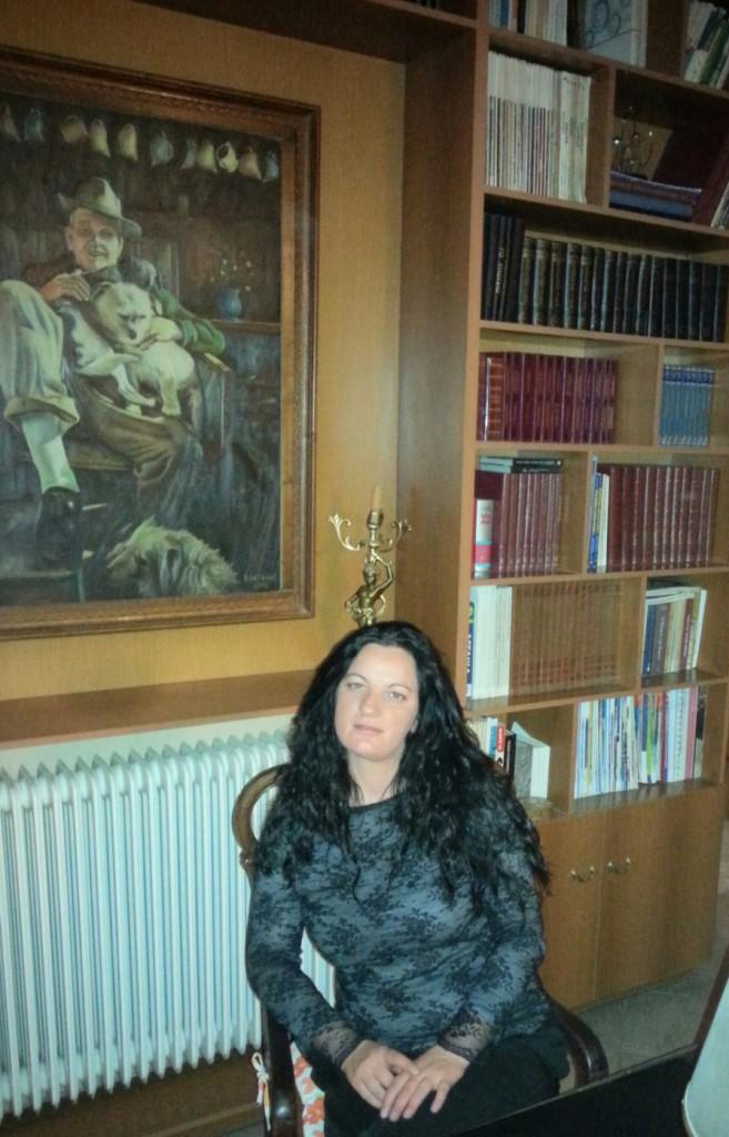 Συνεντευξη της ποιητριας Αννας Μετσανη