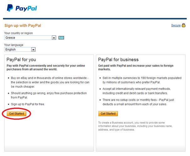 Οδηγιες για τη δημιουργια λογαριασμου στο paypal 01